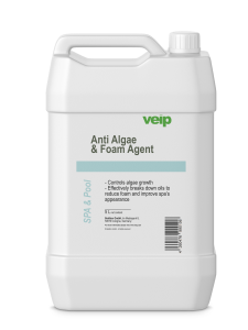 spa & pool anti algae & foam agent 5 liter canister